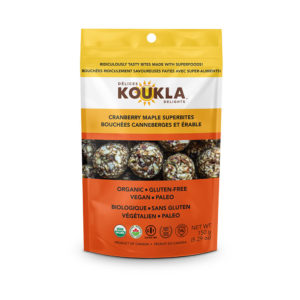Koukla Delights Cranberry Maple Granola Cookies